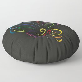 The butterfly - The heart of Esperanza Floor Pillow
