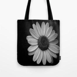 Darkened Daisy Tote Bag