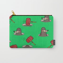 Whack-A-Mole Pattern Carry-All Pouch