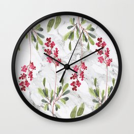 Berries Tale Wall Clock