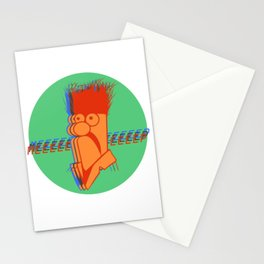 Meep in Three Stationery Cards