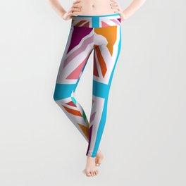 Union Jack/Flag Design Multicoloured Leggings
