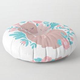 Mummy cat Floor Pillow