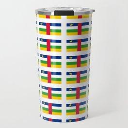 Flag of Central African Republic,car, Bêafrîka,centrafrique,Central African, centrafricain,Oubangui- Travel Mug
