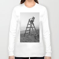 sunrise Long Sleeve T-shirts featuring Sunrise by Solar Designs