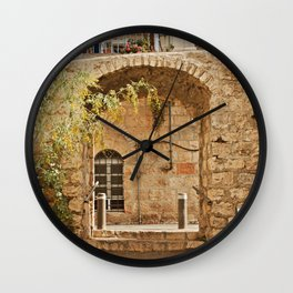 Jerusalem Archway Wall Clock