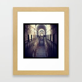 Upstairs- Filtered Framed Art Print