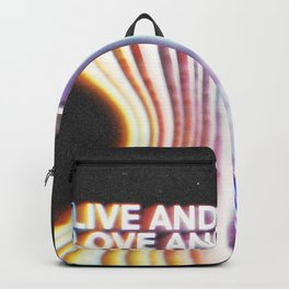 Live and Love Backpack