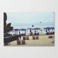 Patong Beach Canvas Print
