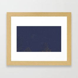Enjoying the view Framed Art Print