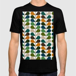 Mid Century Modern Fern Pattern T-shirt