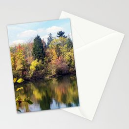 Fall Color Stationery Cards