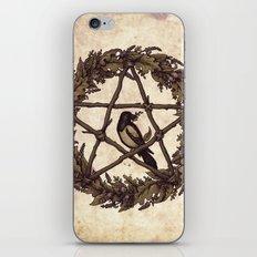 Botanical Pentacle: Wild Witch iPhone & iPod Skin