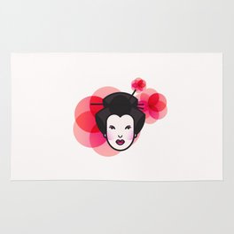 Geisha Icon Rug