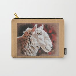 "Pastel Drawing ""Sheepish Grin"" Carry-All Pouch"