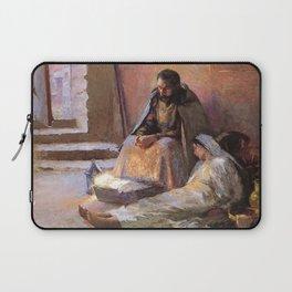The Nativity By Gari Melchers Laptop Sleeve