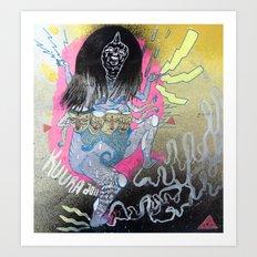 stomper Art Print