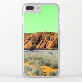 "Not So ""Red Center"" Clear iPhone Case"
