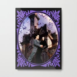 Addams Family Portrait Metal Print