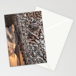 Beach lac Ecosse 4 Stationery Cards