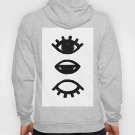 sleepy eye - all-seeing eye Hoody