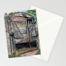 Farm Pigsty with a Difference Stationery Cards