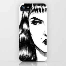 nothankyou. iPhone Case