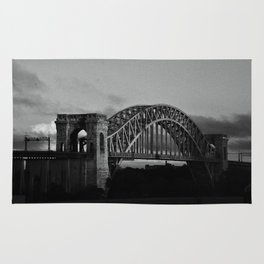 N Why Bridge Rug