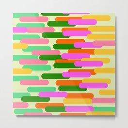 Abstract Flo Metal Print