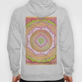 Pink Lotus Mandala Hoody