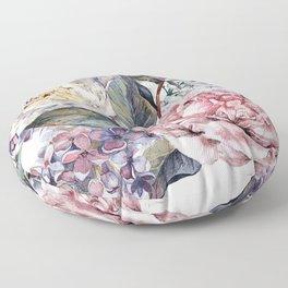 Watercolor Bouquet Floor Pillow
