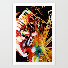 Electrify Art Print
