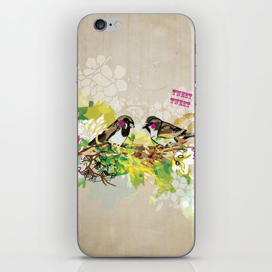 Tweet Tweet iPhone & iPod Skin