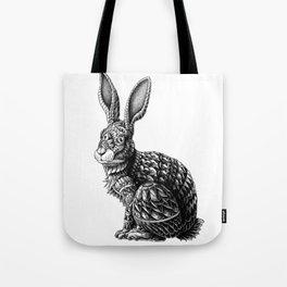 Ornate Rabbit Tote Bag