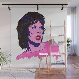 Glam Jagger Wall Mural