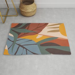 Abstract Art Jungle Rug