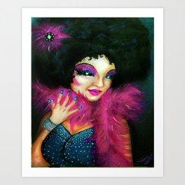 Disco Lala Art Print