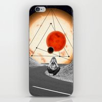 alone iPhone & iPod Skins featuring Alone by Cs025