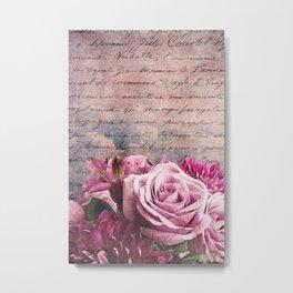 the bouquet Metal Print