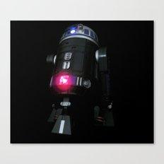 Dark Droid Canvas Print