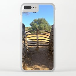 Traditional Menorcan Gate Clear iPhone Case