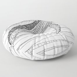 Humpback Whale Floor Pillow