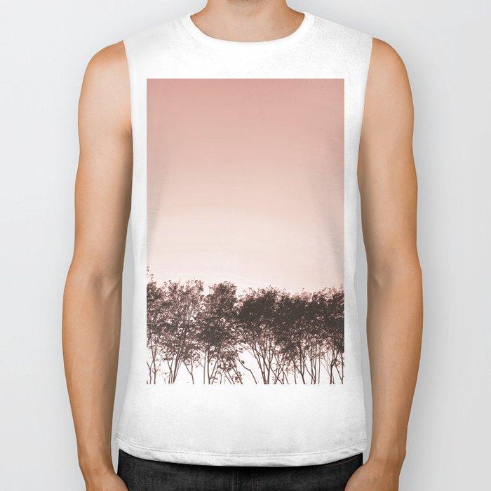 Blush pinky sky Biker Tank