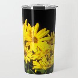 Breath Taking Yellow Flowers Travel Mug
