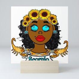 Scorpio Queen Mini Art Print