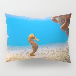 Tropical Seahorse Pillow Sham