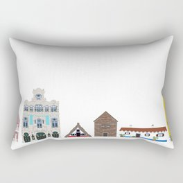 Portugal Rectangular Pillow