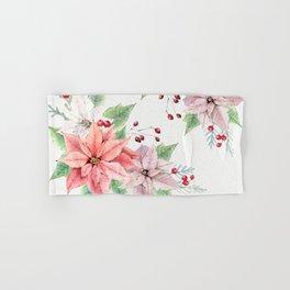 Poinsettia 2 Hand & Bath Towel