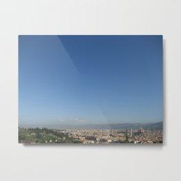 Florence Sky Metal Print