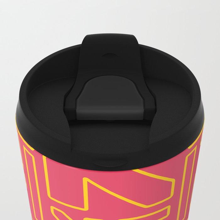 PACMAN Metal Travel Mug